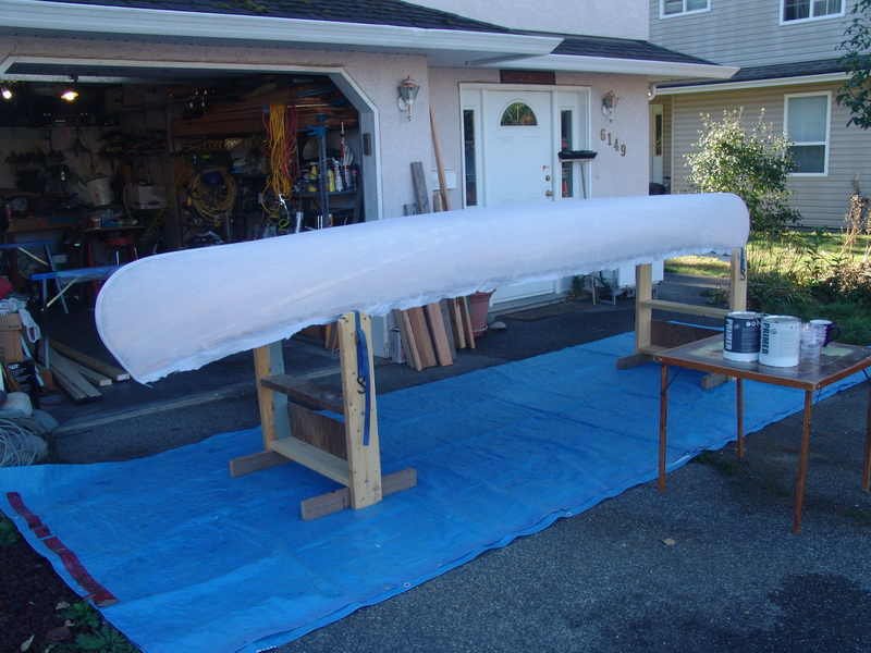 Aircraft Fabric Covered Canoe