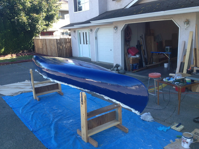 Painting the Canoe
