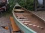 Antique Strip Canoe
