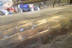 Canoe Rib Repair