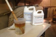 mixing ecopoxy