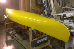 Painting a Yellow Canoe