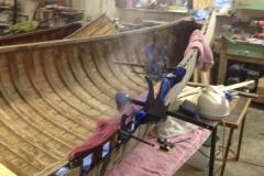 Huron Canoe Inwale Repair
