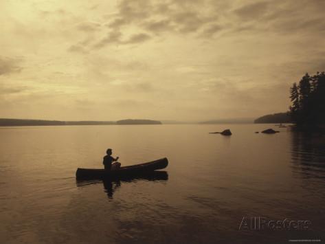 Canoe Silhouette