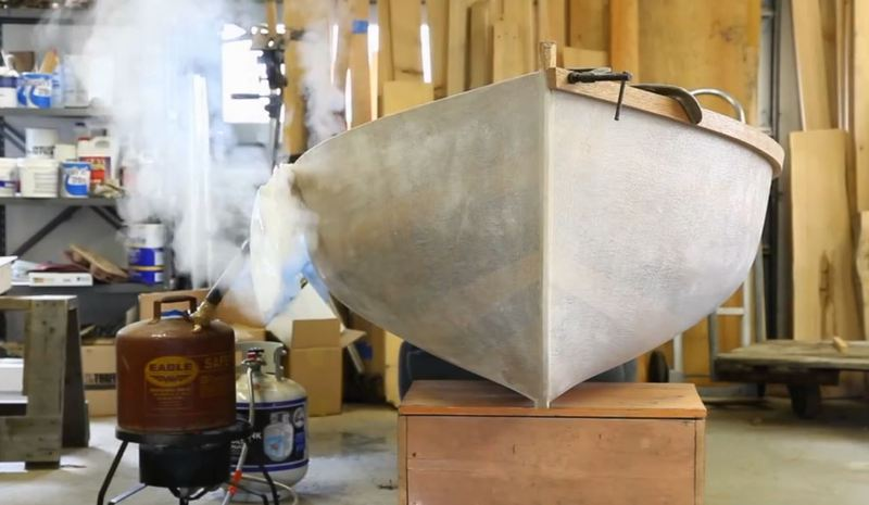 Steam Bending with Poly Bags