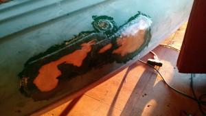 Fiberglass Canoe Repair