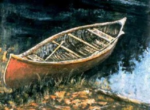 Bill Mason's Red Canoe