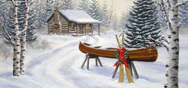 Christimas Canoe